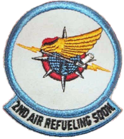 2d Air Refueling Squadron - SAC - Patch