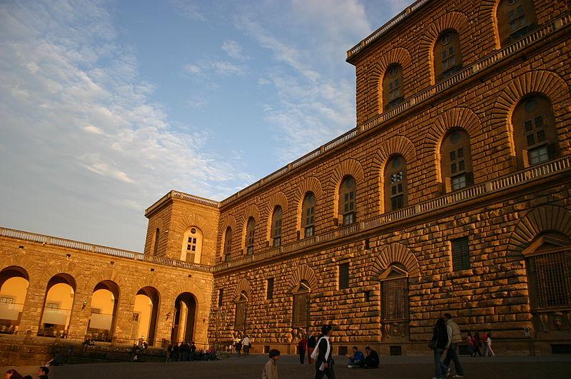 File:3080 - Firenze - Palazzo Pitti - Foto Giovanni Dall'Orto, 28-Oct-2007.jpg