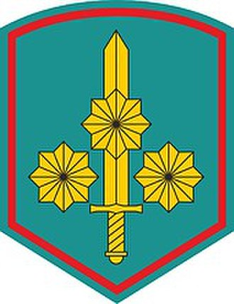 35th Army (Russia) - 35th Army Shoulder Sleeve Insignia (from 2015)