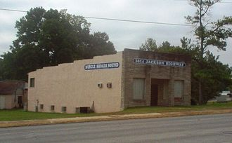 Muscle Shoals Sound Studio - Original studios at 3614 Jackson Highway, Sheffield