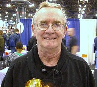 Gary Friedrich - Gary Friedrich at the April 2008 New York Comic Con.