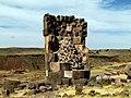 43 Inca Tombs Chullpas Sillustani Peru 3437 (15140681251).jpg
