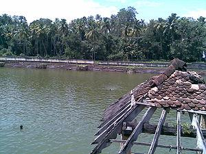 Janardanaswamy Temple - Pond of the temple