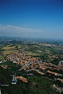 Cailungo Village in Borgo Maggiore, San Marino