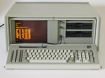 English: The IBM Portable PC 5155 model 68