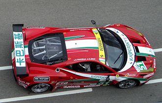 AF Corse - AF Corse's Ferrari F458 Italia GT2 at Zhuhai International Circuit.