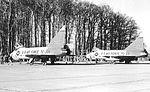 525th Fighter-Interceptor Squadron Convair TF-102 Delta Daggers on flightlne.jpg