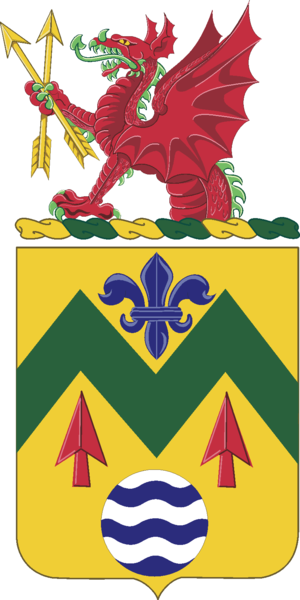 528th Support Battalion (United States) - Coat of arms