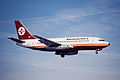 52cu - Aviogenex Boeing 737-2K3; YU-ANP@ZRH;27.02.1999 (4790184325).jpg