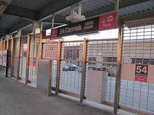 54th/Cermak station - Image: 54Cermak CTA Station