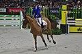 54eme CHI de Genève - 20141213 - Prix de la Fédération d'Elevage du Cheval de Sport CH - Pénélope Leprevost et Cayman Athletic CH 2.jpg