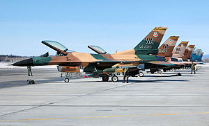 64th Aggressor Squadron - F-16s of the 64th Aggressor Squadron