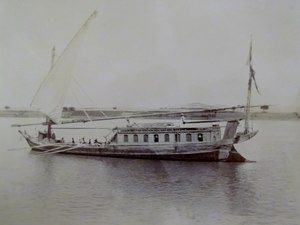 Dahabeah - Dahabeah on the Nile, 1891
