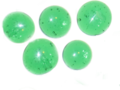 5 green glass beads.png