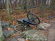 6-pounder Wiard cannon at Stones River National Battlefield