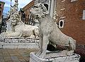 6031 - Venezia - Arsenale - Leone greco (da Delo, sec. VI aC) - Foto Giovanni Dall'Orto, 10-Aug-2007a.jpg