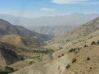 Fergana Valley - Fergana Valley near the Kamchik Pass in Uzbekistan