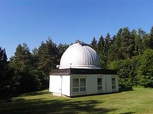 Ondřejov Observatory - Image: 65 cm telescope dome (Ondřejov observatory)