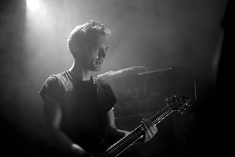 65daysofstatic - Paul Wolinski in 2009
