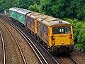 73119 and 73 number 107 Tonbridge to Eastleigh Works 5Y68 (34613578913).jpg