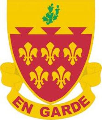 41st Field Artillery Brigade (United States) - Image: 77FARegt DUI