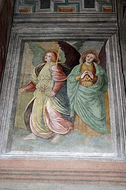 9929_-_Milano_-_Sant'Ambrogio_-_Scuola_di_Gaudenzio_Ferrari_-_Angeli_(1545)_-_Foto_Giovanni_Dall'Orto_25-Apr-2007.jpg