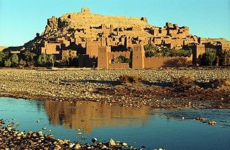 Ksar - Ksar Aït Benhaddou, Morocco, a UNESCO World Heritage Site since 1987