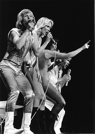 ABBA: The Tour - The first show of the tour at Northlands Coliseum in Edmonton, Alberta, Canada.
