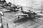 AD-6 Skyraiders of VA-105 on USS Bennington (CVA-20) c1956.jpg