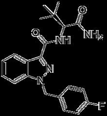 ADB-FUBINACA strukture.png