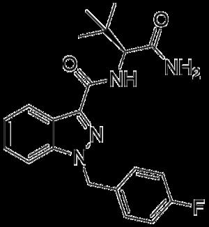ADB-FUBINACA - Image: ADB FUBINACA structure