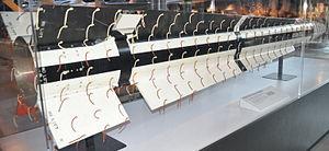 AGM-76 Falcon - Aerodynamic test model of the AGM-76A on display at the Steven F. Udvar-Hazy Center