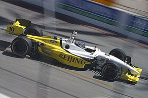 A. J. Allmendinger - Allmendinger competing at Long Beach in 2005
