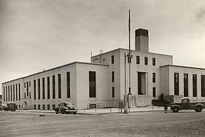 Old Federal Building (Anchorage) - The Federal Building in Anchorage, Alaska, in 1941