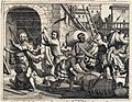 AMH-6961-KB Portugese trading post in the province of Calicut being attacked by Indians.jpg