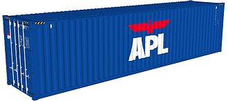American President Lines - APL container