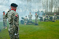 A Field Artillery soldier directs his troops to perform a 21-cannon salute at the Marysville Armed Forces Reserve Center in Marysville, Wash., April 1, 2012 120401-A-RB545-101.jpg