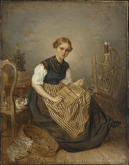 A Girl Carding