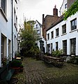 A Medieval Courtyard of Small Houses in Antwerp - panoramio.jpg