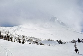Mount Washington Wilderness - On the route to a winter ascent of Mount Washington
