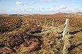 A fence at Foulburn Gair - geograph.org.uk - 1021526.jpg