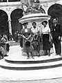 A kastély parkja, Bosquet de la Colonnade, Plutó elrabolja Proserpinát (François Girardon). Franciaország, Versailles 1937. Fortepan 58048.jpg