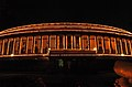 A lighting illumination of Parliament building on the occasion of the 61st Independence Day in New Delhi on August 15, 2007.jpg