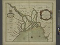 A mapp of the greate river GANGES as ir emptieth it selfe into the bay of BENGALA NYPL1640639.tiff