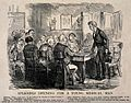 A new doctor being vetted by a local parish committee. Wood Wellcome V0011613.jpg