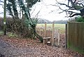 A new stile leading to a footpath across a field - geograph.org.uk - 1107583.jpg
