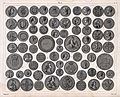 A selection of European coins; both sides. Engraving by J. K Wellcome V0023680.jpg