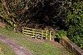 A stile into Jeffrey's Wood - geograph.org.uk - 1805496.jpg