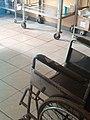 A wheel chair in a clinic.jpg