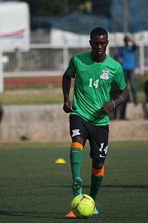 Aaron Katebe Zambian footballer